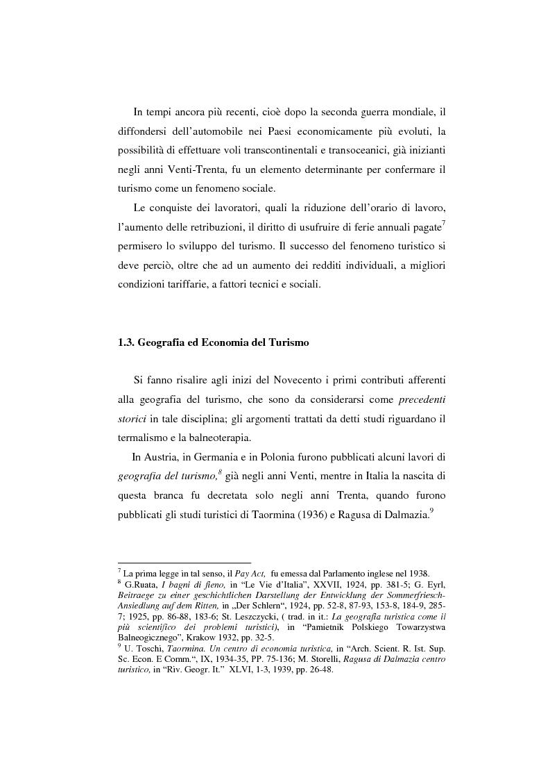 Anteprima della tesi: Innovazioni tecnologiche, marketing e turismo. Il sito web del Tirolo austriaco, Pagina 13