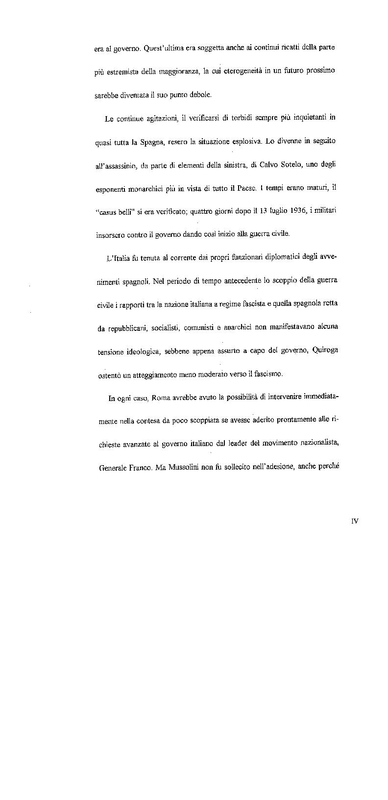 Anteprima della tesi: L'Italia e l'inizio della guerra civile spagnola, Pagina 2