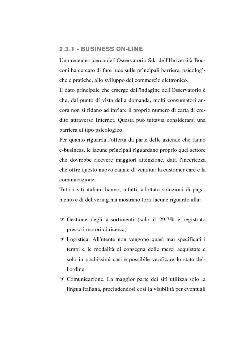 Anteprima della tesi: Analisi e confronto di differenti strategie di logistica distributiva in ambito e-commerce, Pagina 12