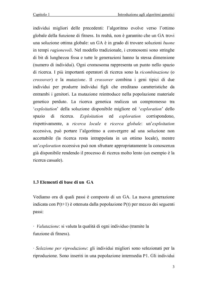 Anteprima della tesi: Algoritmo genetico per il problema del set covering, Pagina 5