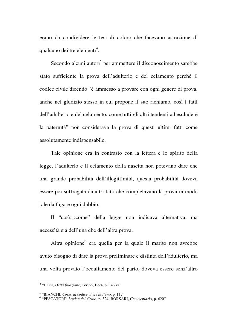 Anteprima della tesi: Il disconoscimento di paternità, Pagina 10