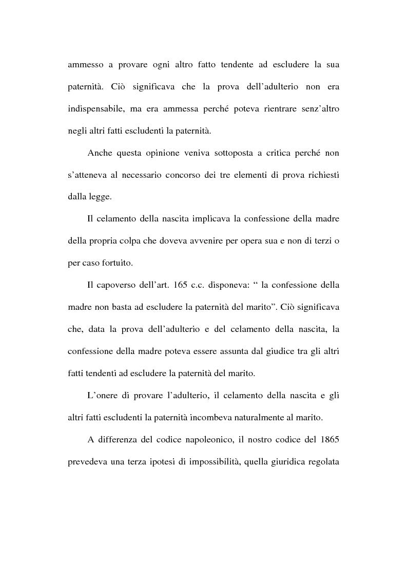 Anteprima della tesi: Il disconoscimento di paternità, Pagina 11