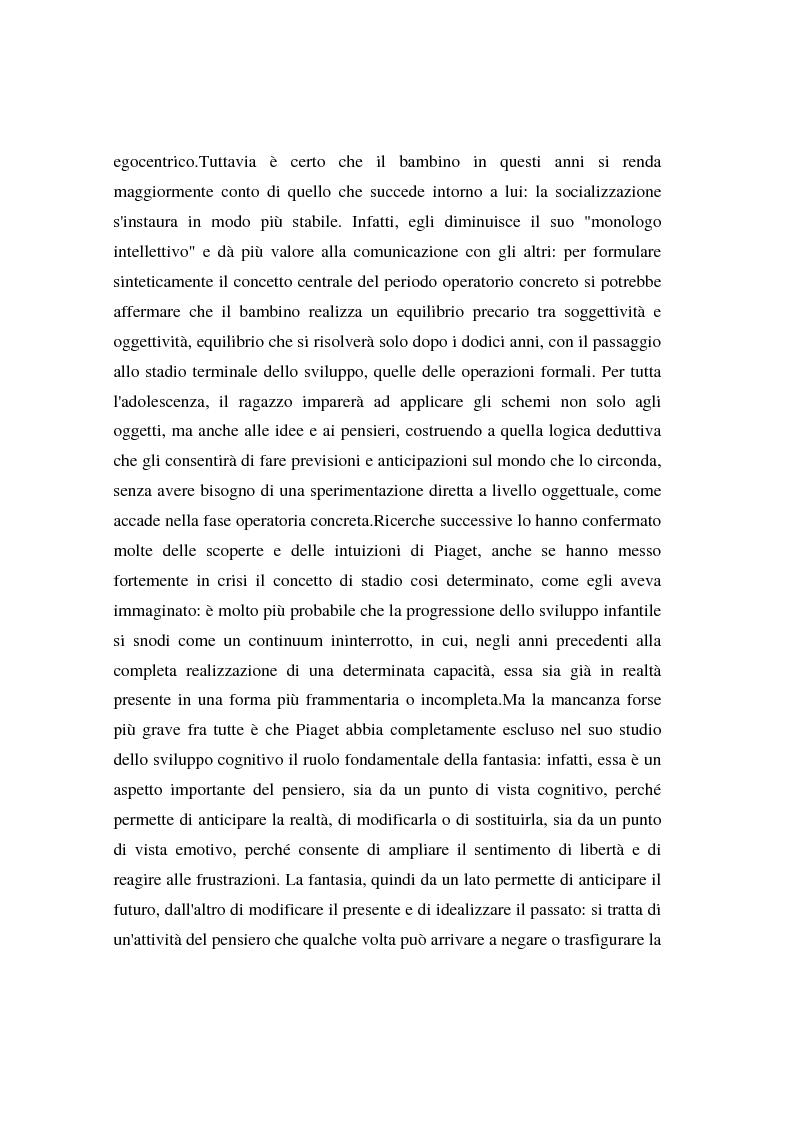 Anteprima della tesi: I bambini e l'advertising - La fruizione da parte dei bambini del messaggio pubblicitario, Pagina 11
