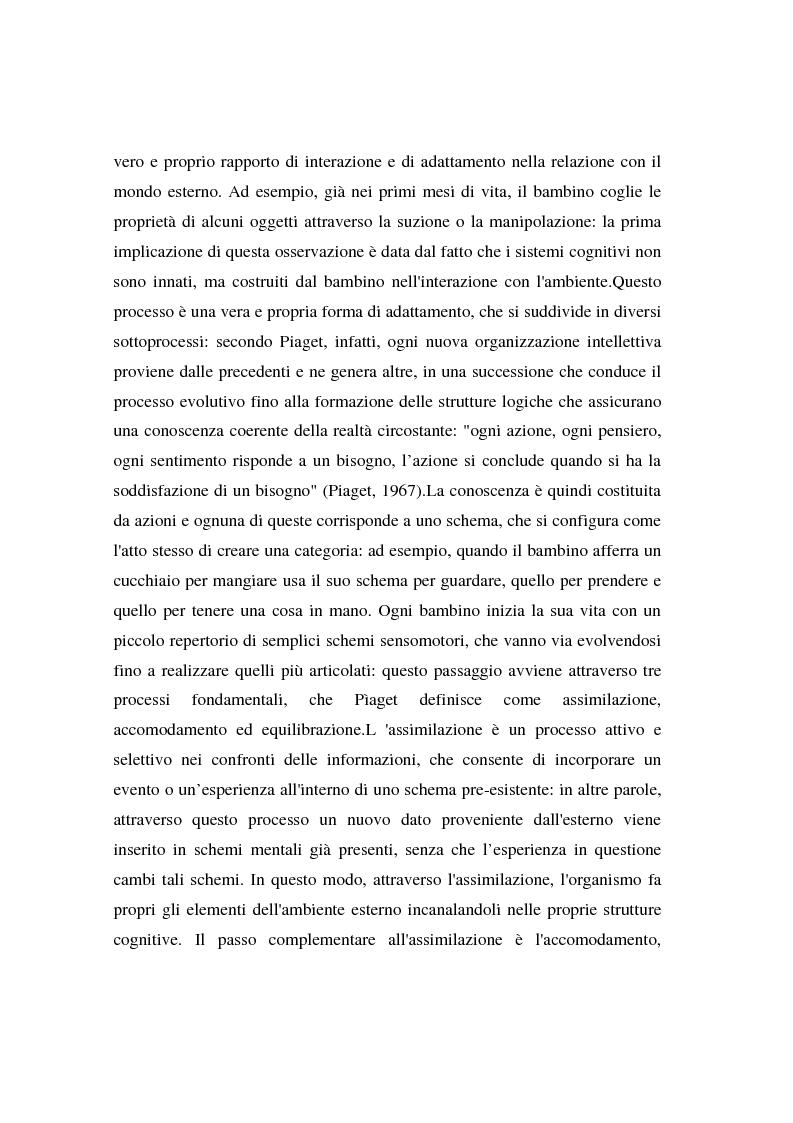 Anteprima della tesi: I bambini e l'advertising - La fruizione da parte dei bambini del messaggio pubblicitario, Pagina 5