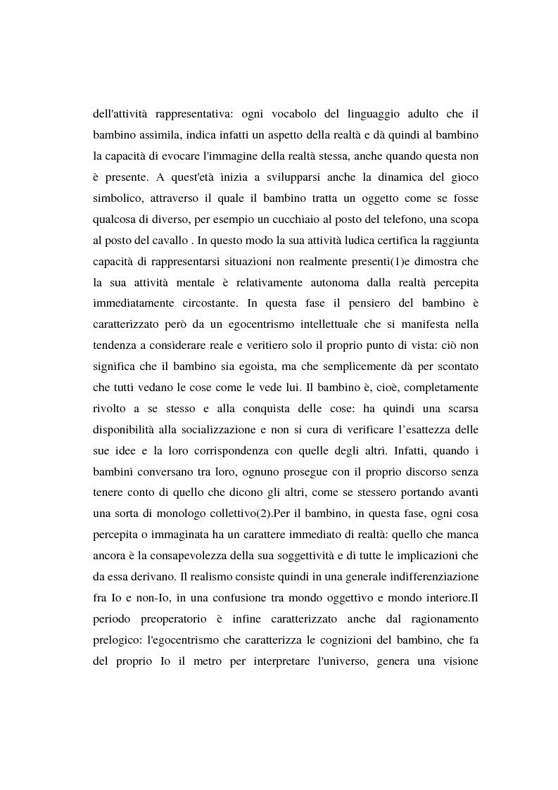 Anteprima della tesi: I bambini e l'advertising - La fruizione da parte dei bambini del messaggio pubblicitario, Pagina 8