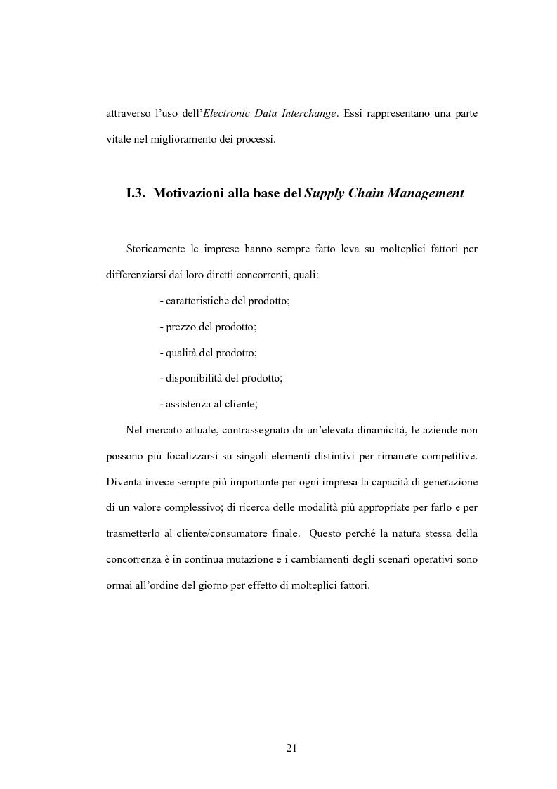 Anteprima della tesi: Impatto delle nuove tecnologie informatiche nei rapporti tra industria agroalimentare e grande distribuzione - Il caso GDA GROUP, Pagina 14