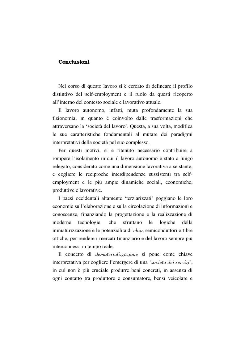 Anteprima della tesi: La costruzione dell'auto-imprenditorialità: professionalità e formazione dei nuovi self-employed, Pagina 6