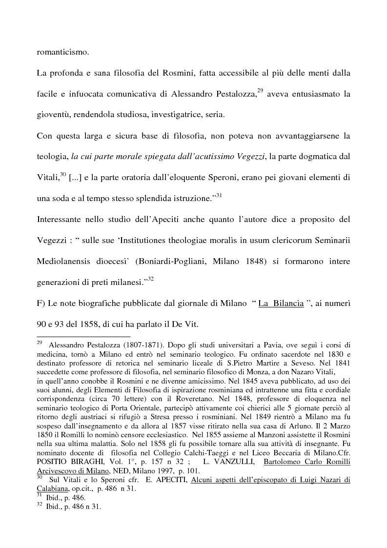 Anteprima della tesi: Don Giovan Battista Vegezzi (Laveno 1789-1858). Note storico-biografiche, Pagina 11