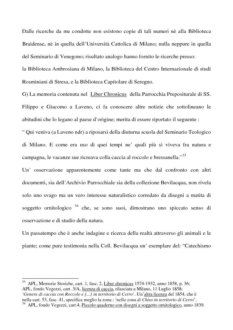 Anteprima della tesi: Don Giovan Battista Vegezzi (Laveno 1789-1858). Note storico-biografiche, Pagina 12