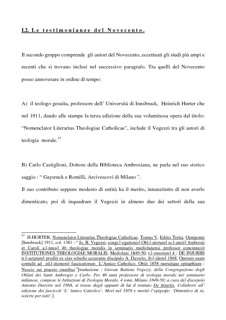 Anteprima della tesi: Don Giovan Battista Vegezzi (Laveno 1789-1858). Note storico-biografiche, Pagina 14