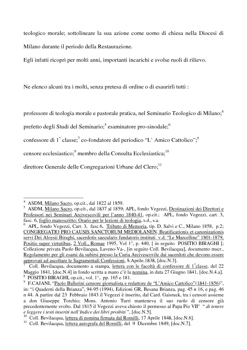 Anteprima della tesi: Don Giovan Battista Vegezzi (Laveno 1789-1858). Note storico-biografiche, Pagina 3