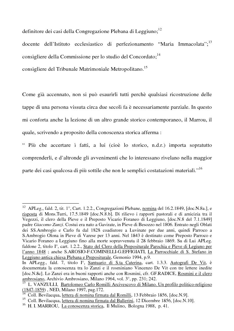 Anteprima della tesi: Don Giovan Battista Vegezzi (Laveno 1789-1858). Note storico-biografiche, Pagina 4