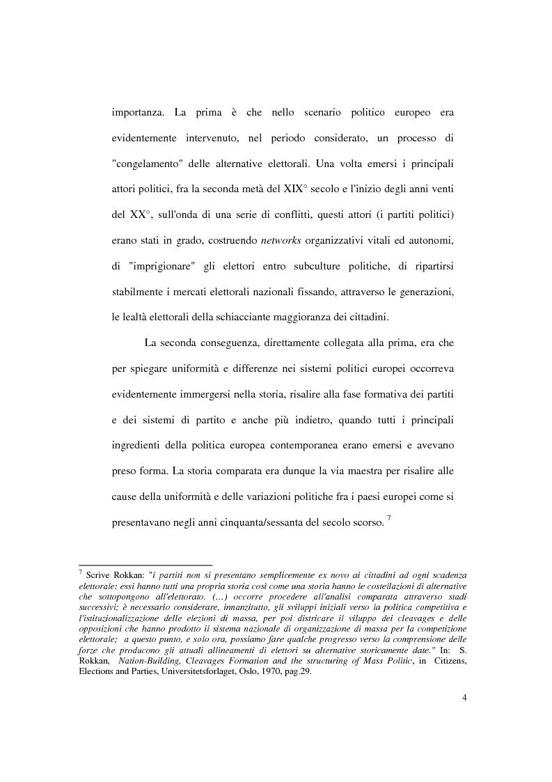 Anteprima della tesi: Continuità e discontinuità dei sistemi partitici e dei partiti cristiani in Polonia, Ungheria e Cecoslovacchia, Pagina 4