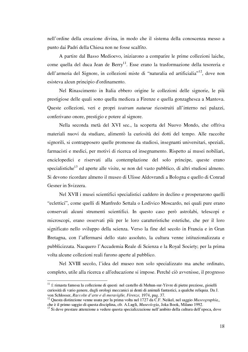 Anteprima della tesi: I musei della scienza e l'ambiente Internet, Pagina 7