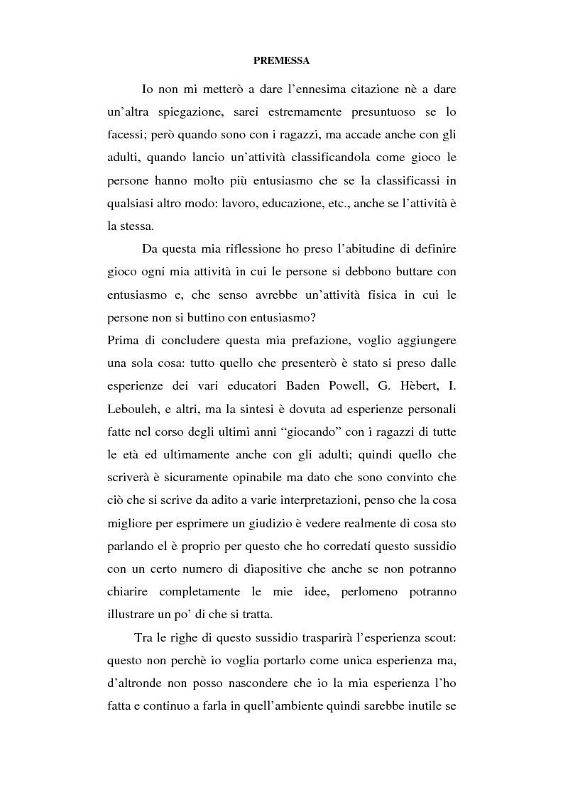 Anteprima della tesi: Educazione al movimento in ambiente naturale, Pagina 2