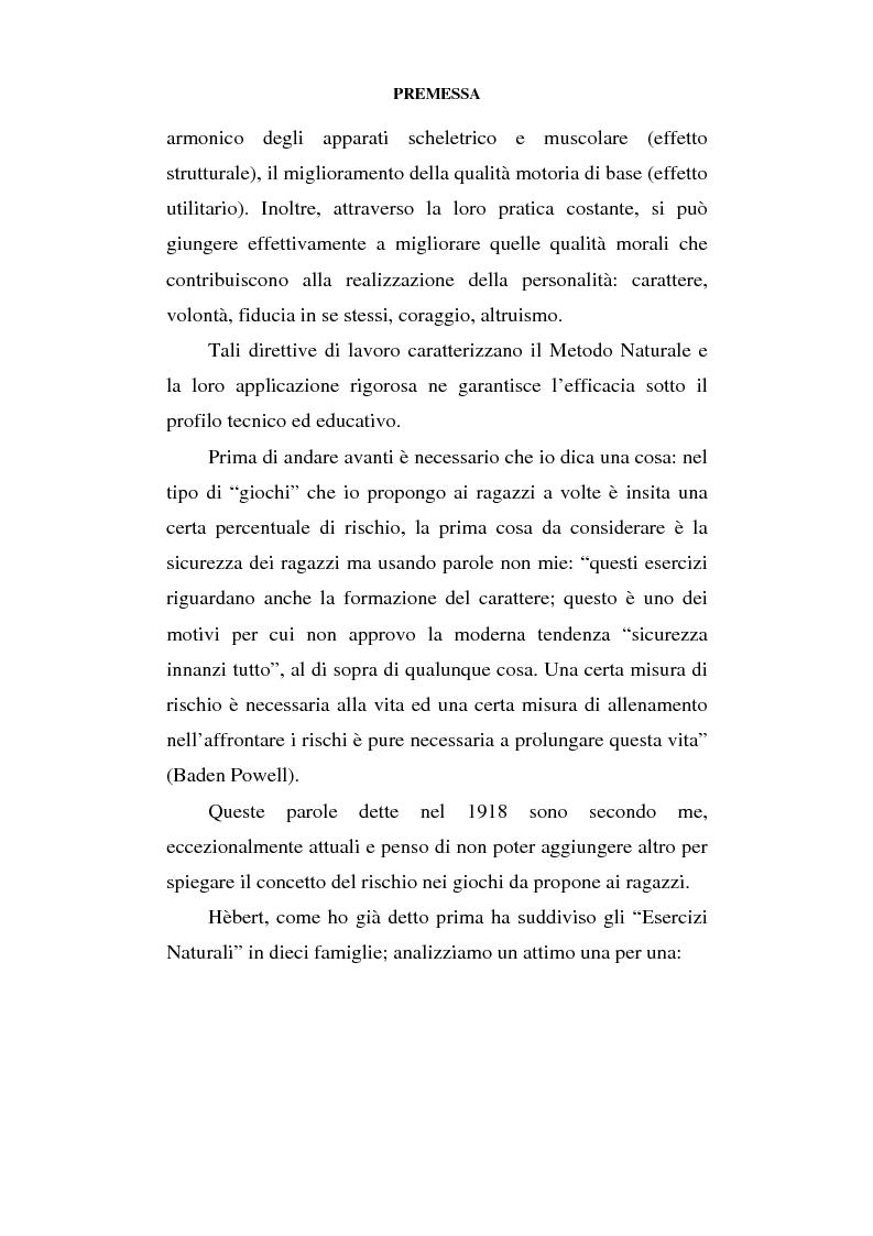 Anteprima della tesi: Educazione al movimento in ambiente naturale, Pagina 7