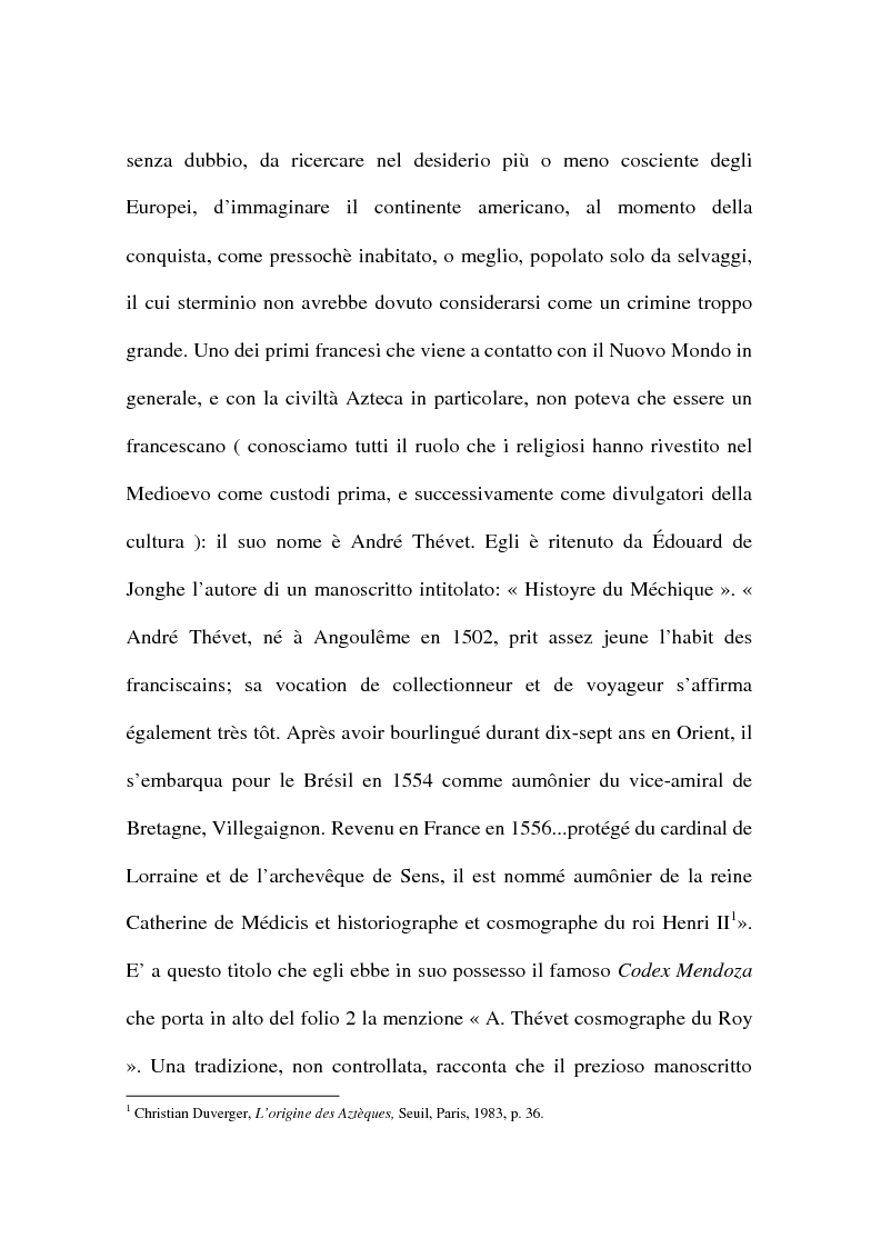 Anteprima della tesi: La civiltà azteca nella storiografia francese, Pagina 2