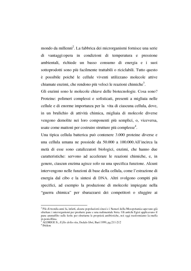 Anteprima della tesi: L'agricoltura geneticamente modificata dall'erosione della biodiversità ai problemi di una biopolitica globale, Pagina 4