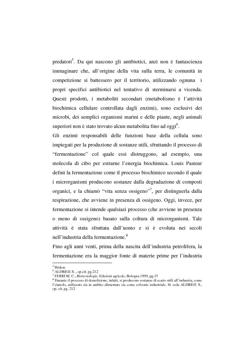 Anteprima della tesi: L'agricoltura geneticamente modificata dall'erosione della biodiversità ai problemi di una biopolitica globale, Pagina 5