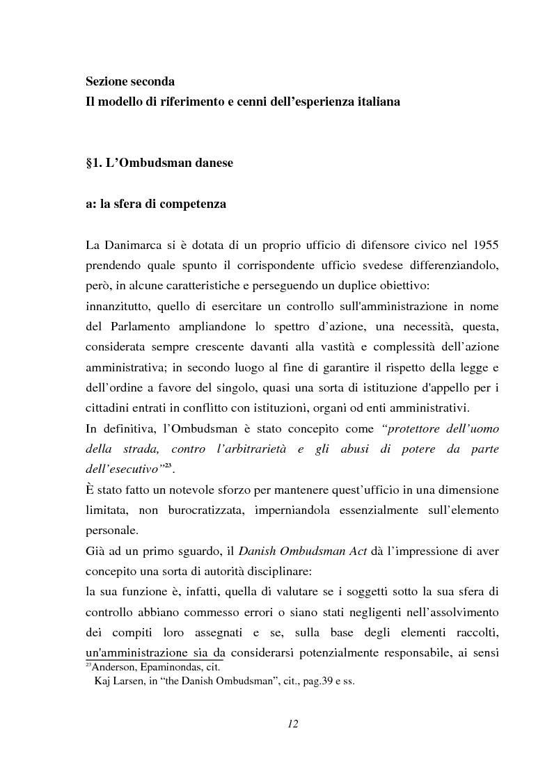 Anteprima della tesi: Il Mediatore europeo, Pagina 12