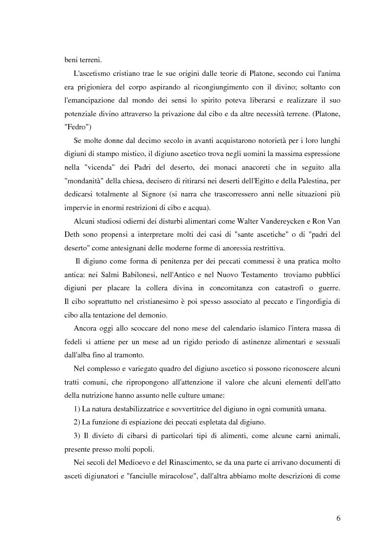 Anteprima della tesi: Valutazione di personalità e temperamento nei disturbi del comportamento alimentare, Pagina 5