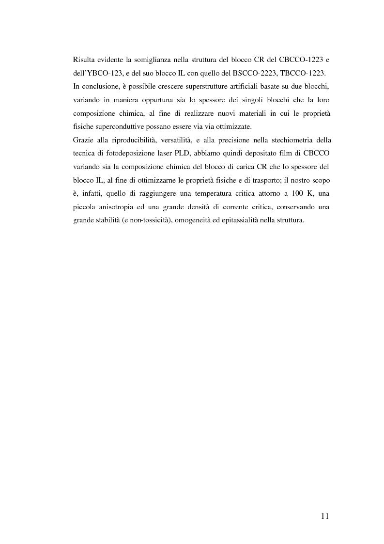 Anteprima della tesi: Misure di trasporto in superreticoli superconduttori BaCuO2/CaCuO2 cresciuti mediante fotodeposizione laser, Pagina 14