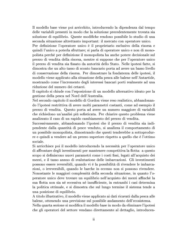 Anteprima della tesi: Modelli matematici per la pesca industriale, Pagina 2
