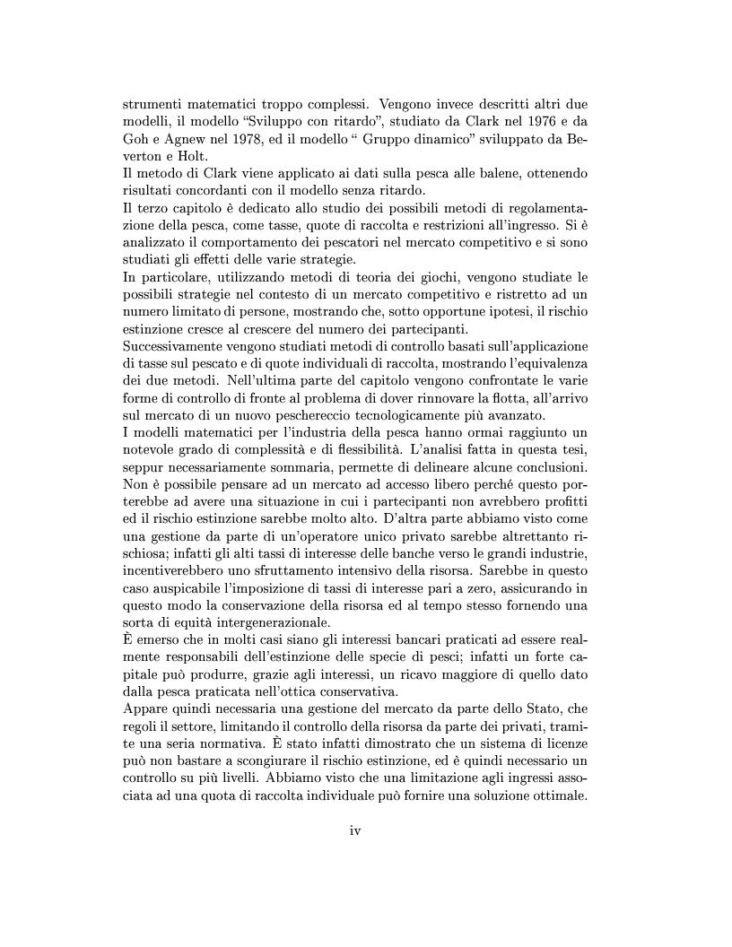 Anteprima della tesi: Modelli matematici per la pesca industriale, Pagina 4