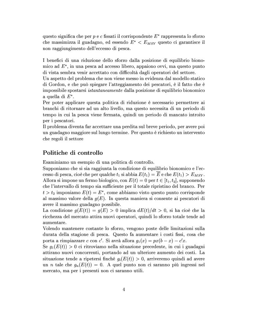 Anteprima della tesi: Modelli matematici per la pesca industriale, Pagina 8