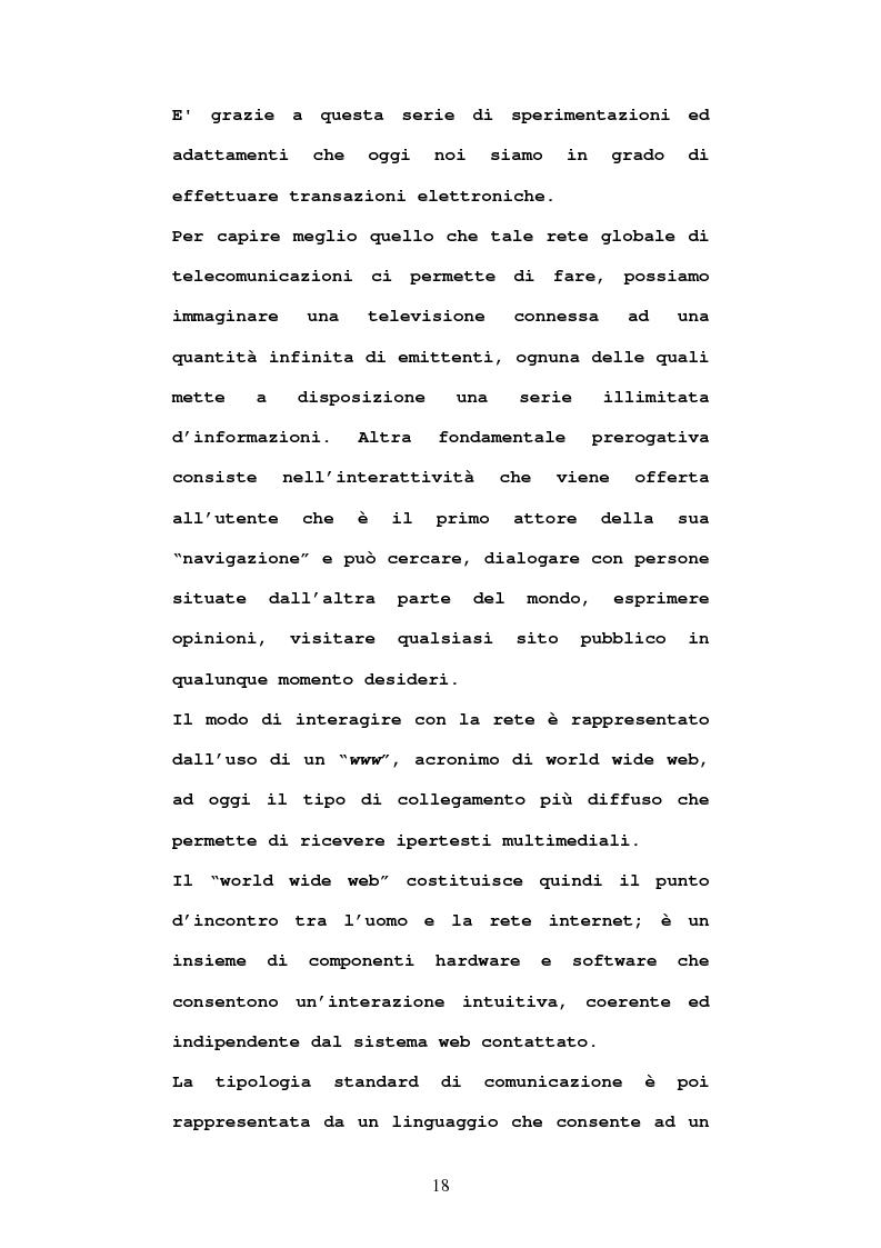Anteprima della tesi: Economia e diritto dell'e-commerce, Pagina 13