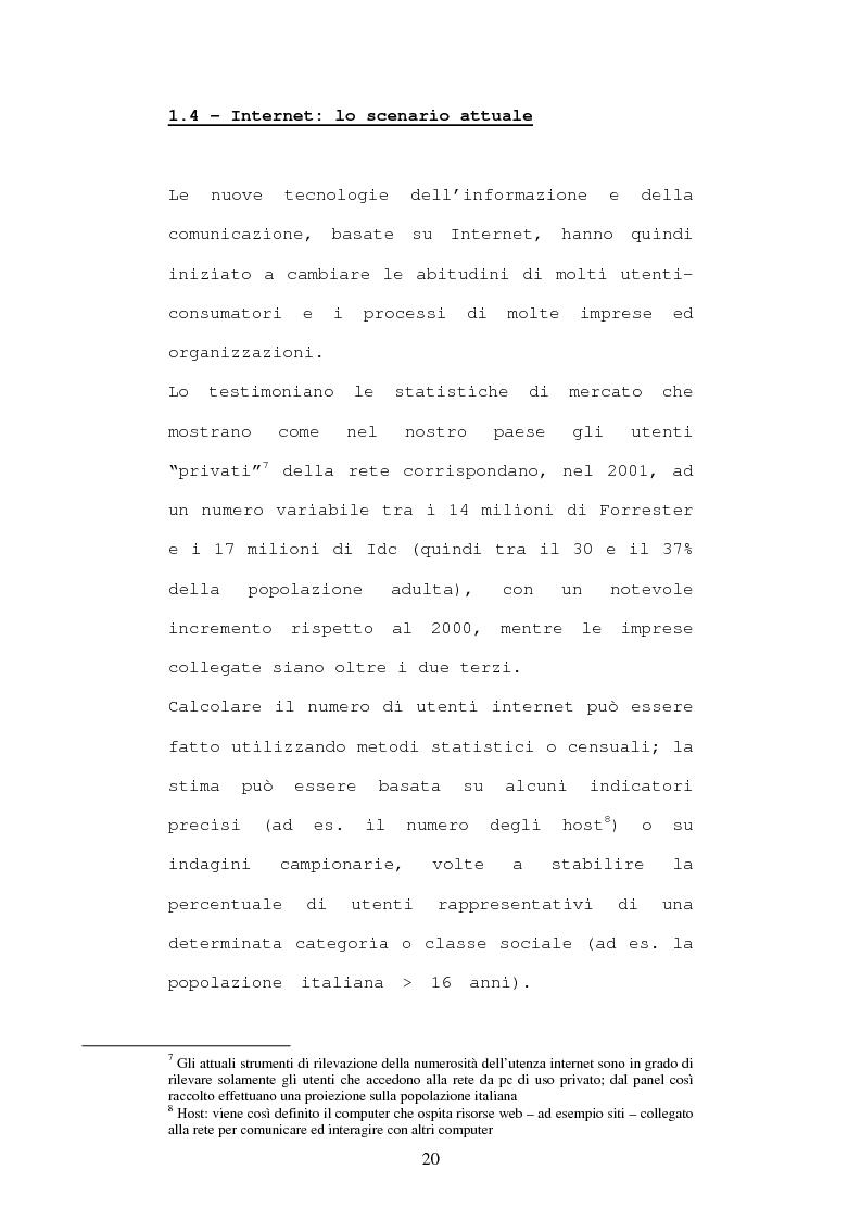 Anteprima della tesi: Economia e diritto dell'e-commerce, Pagina 15
