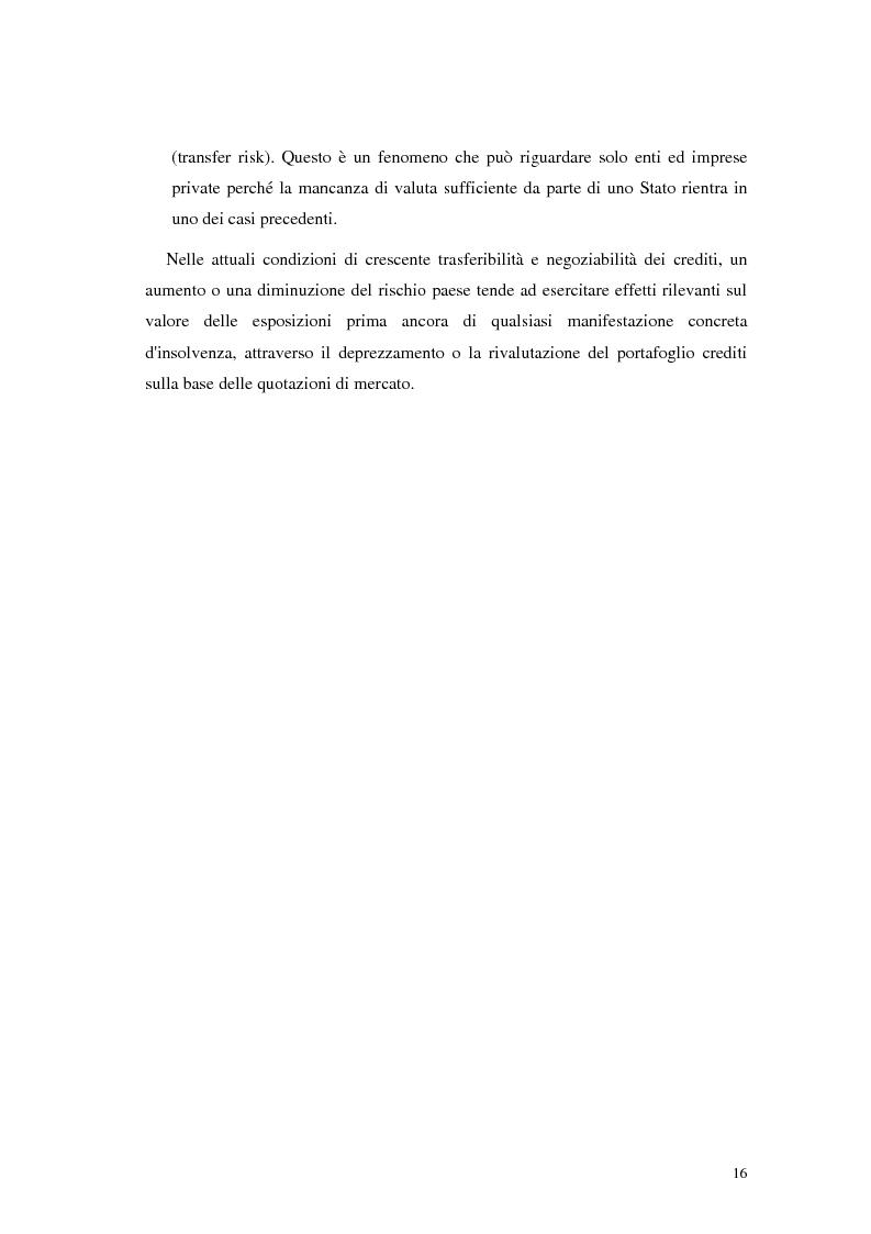 Anteprima della tesi: L'analisi del rischio paese. Una applicazione delle reti neurali., Pagina 13