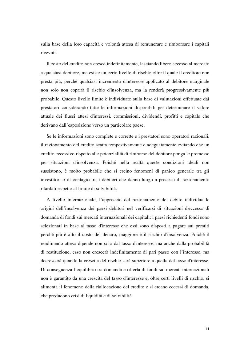 Anteprima della tesi: L'analisi del rischio paese. Una applicazione delle reti neurali., Pagina 8