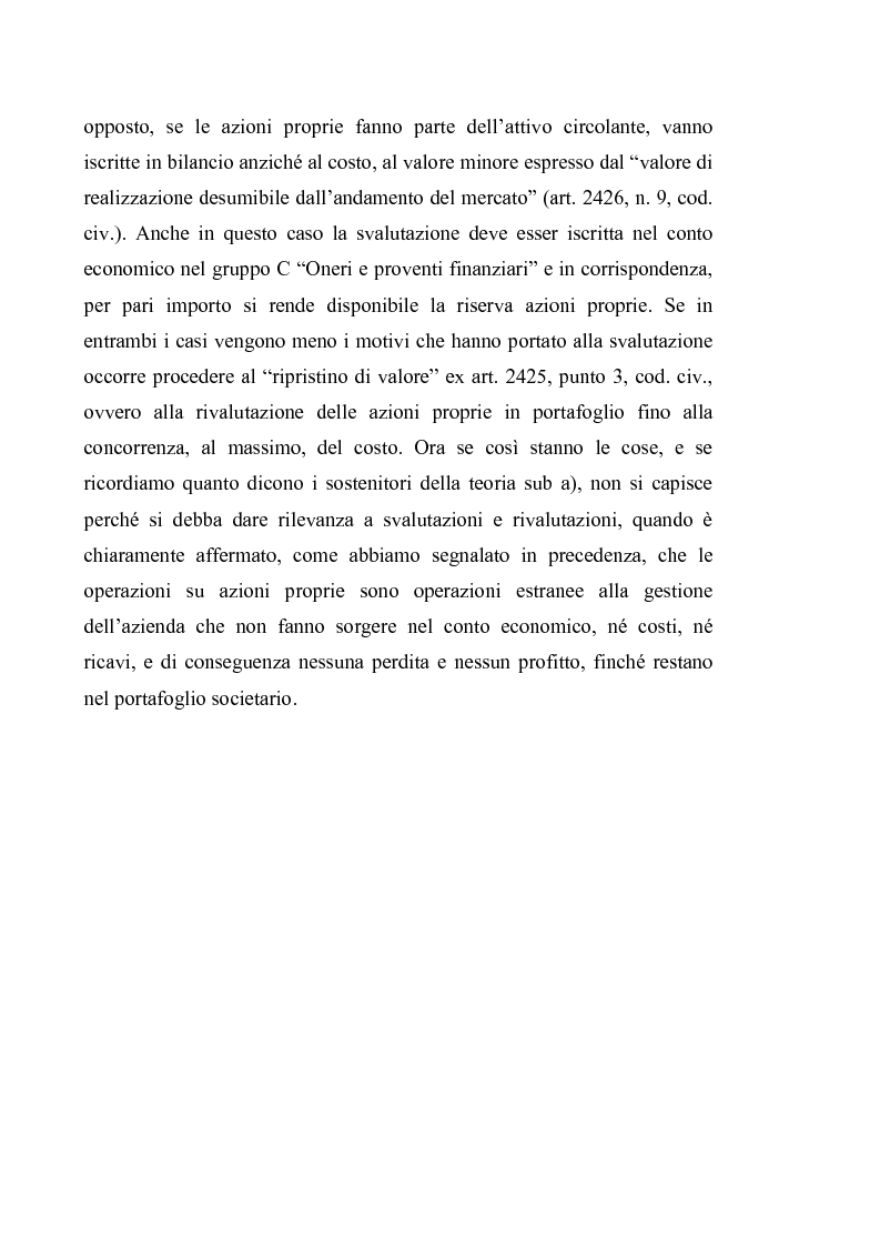 Anteprima della tesi: Acquisto e possesso di azioni proprie e della controllante: motivazioni e riflessi sul bilancio d'esercizio e consolidato, Pagina 8