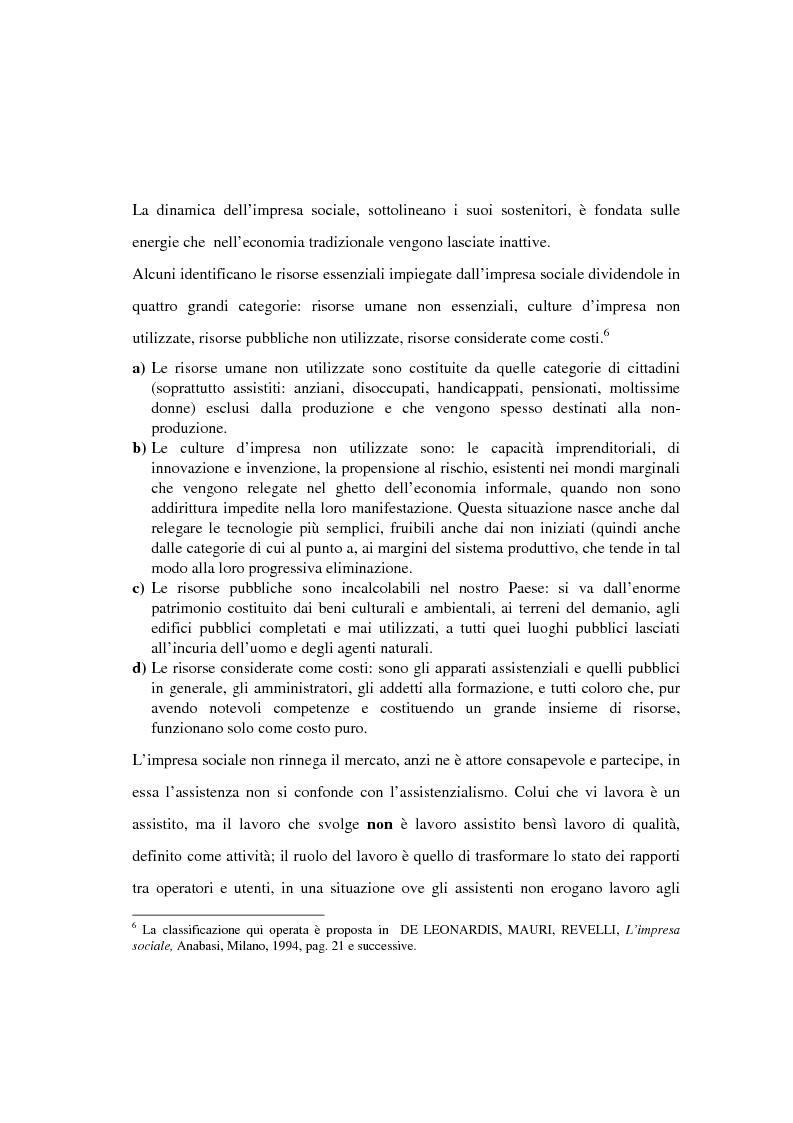 Anteprima della tesi: Il finanziamento del settore non profit: la prospettiva della banca etica, Pagina 7
