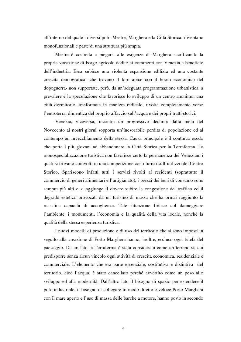 Anteprima della tesi: L'altra Venezia: il Parco di San Giuliano e il rinnovo territoriale, Pagina 2