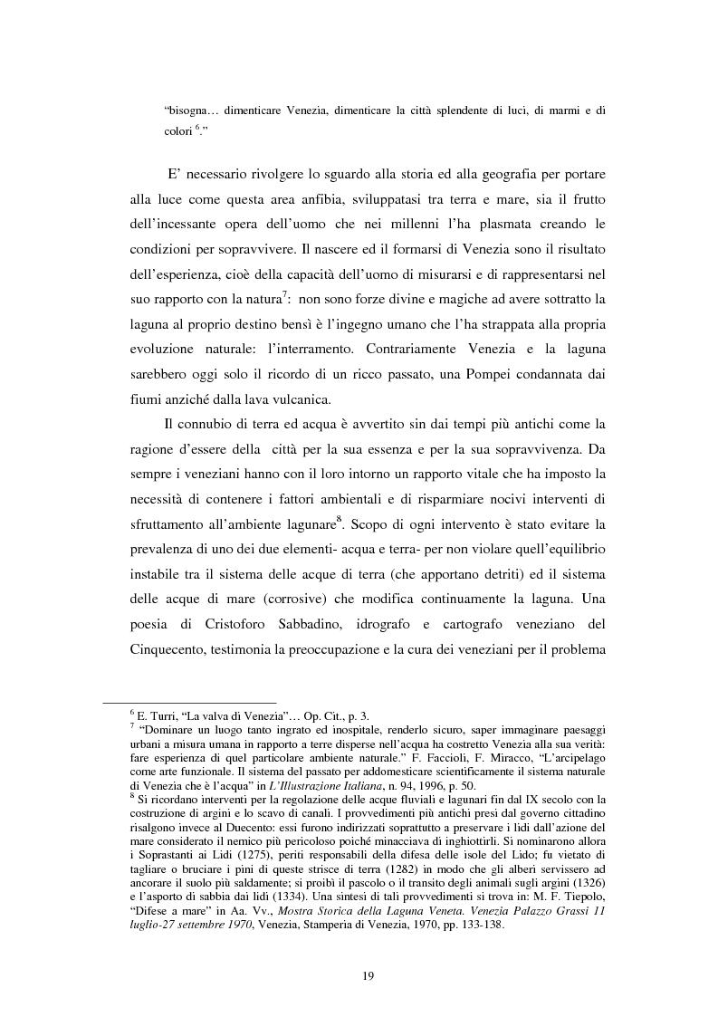 Anteprima della tesi: L'altra Venezia: il Parco di San Giuliano e il rinnovo territoriale, Pagina 8