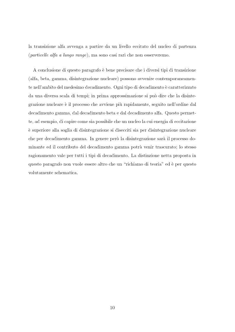Anteprima della tesi: Il radiocesio nei boschi della regione FVG: la situazione attuale ed il confronto con il passato, Pagina 10
