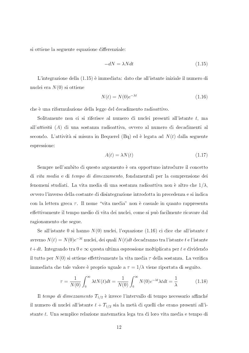 Anteprima della tesi: Il radiocesio nei boschi della regione FVG: la situazione attuale ed il confronto con il passato, Pagina 12