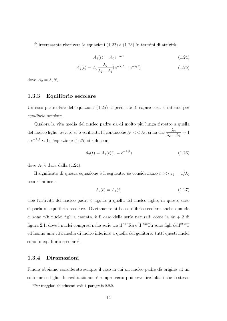 Anteprima della tesi: Il radiocesio nei boschi della regione FVG: la situazione attuale ed il confronto con il passato, Pagina 14