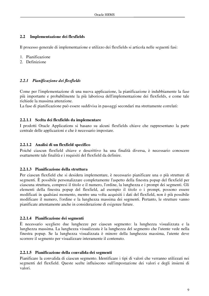 Anteprima della tesi: La gestione delle risorse umane e i sistemi Erp: il caso Oracle Hr, Pagina 4