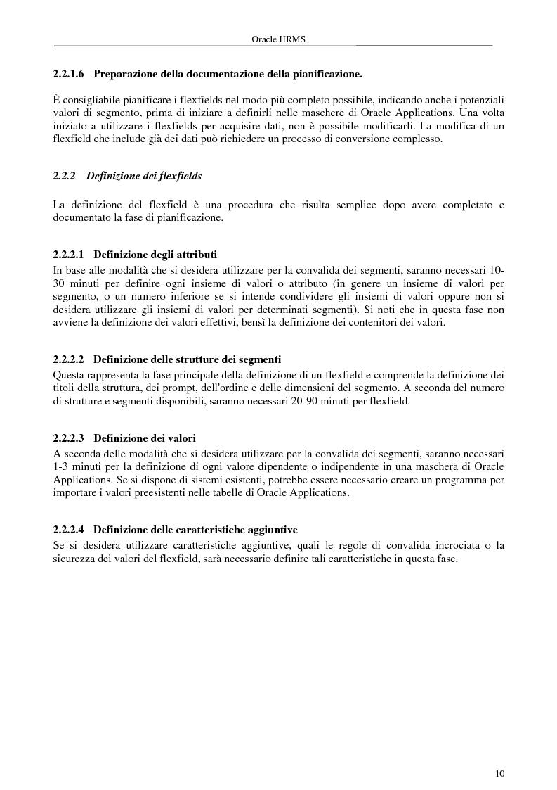 Anteprima della tesi: La gestione delle risorse umane e i sistemi Erp: il caso Oracle Hr, Pagina 5