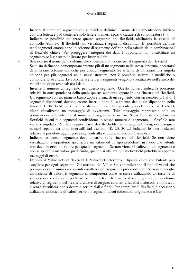 Anteprima della tesi: La gestione delle risorse umane e i sistemi Erp: il caso Oracle Hr, Pagina 9