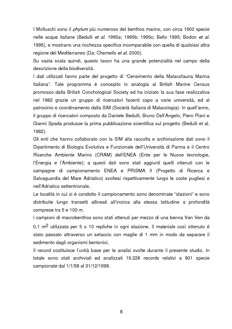 Anteprima della tesi: Specie rare della malacofauna marina mediterranea, Pagina 2