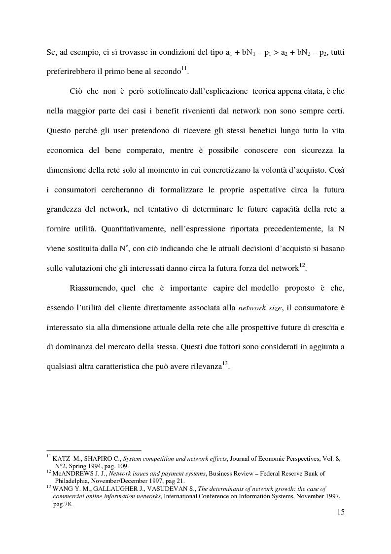 Anteprima della tesi: L'innovazione nei sistemi di pagamento: il caso della moneta elettronica, Pagina 10