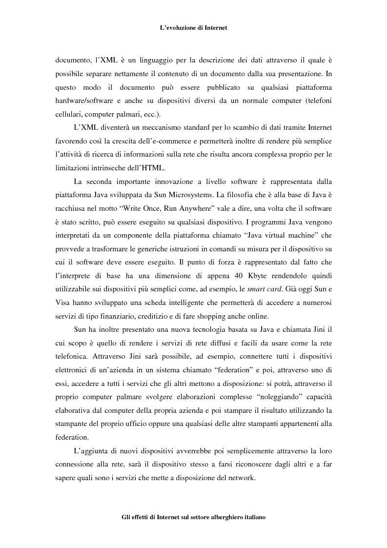 Anteprima della tesi: Gli effetti di Internet sul settore alberghiero italiano, Pagina 12