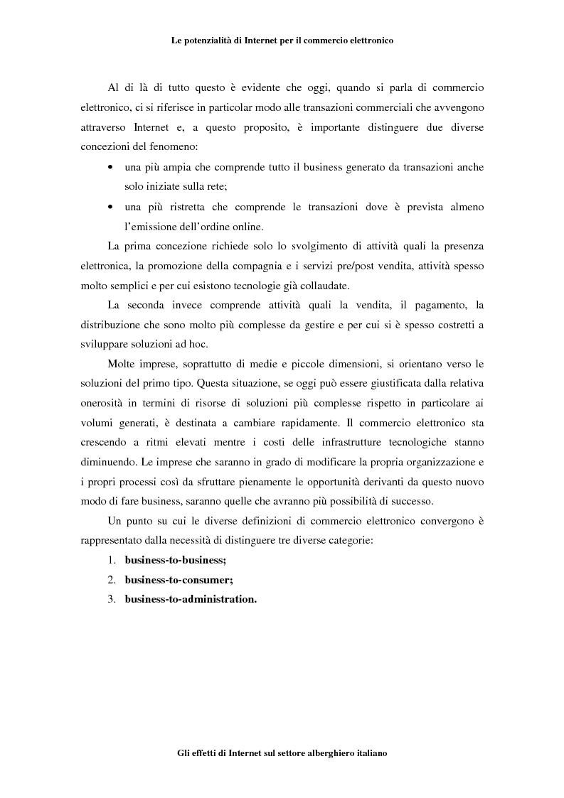 Anteprima della tesi: Gli effetti di Internet sul settore alberghiero italiano, Pagina 15