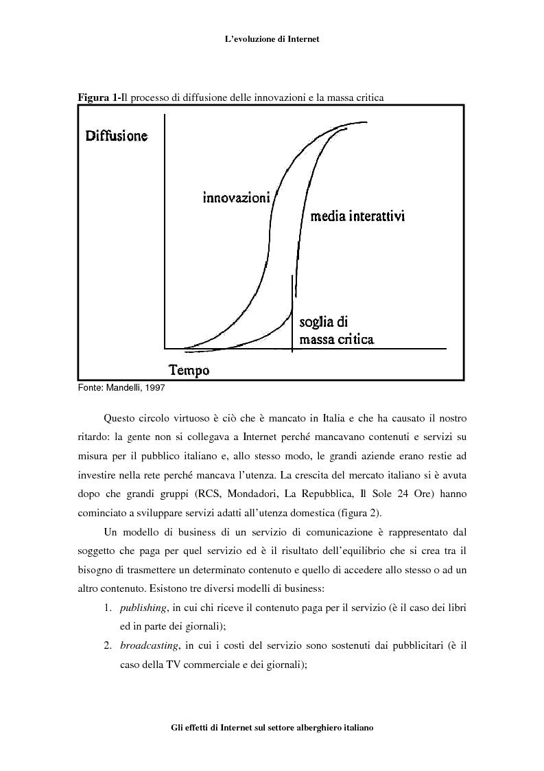 Anteprima della tesi: Gli effetti di Internet sul settore alberghiero italiano, Pagina 8