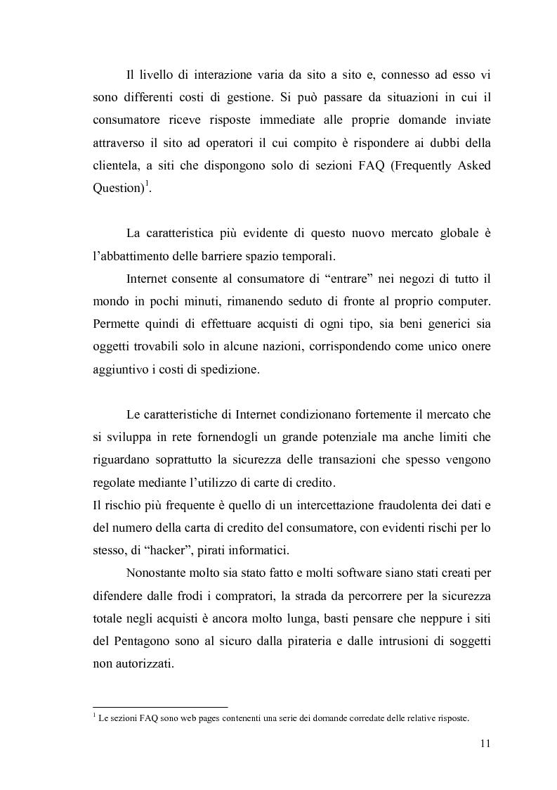 Anteprima della tesi: Comunicazione e promozione di un sito web, Pagina 9