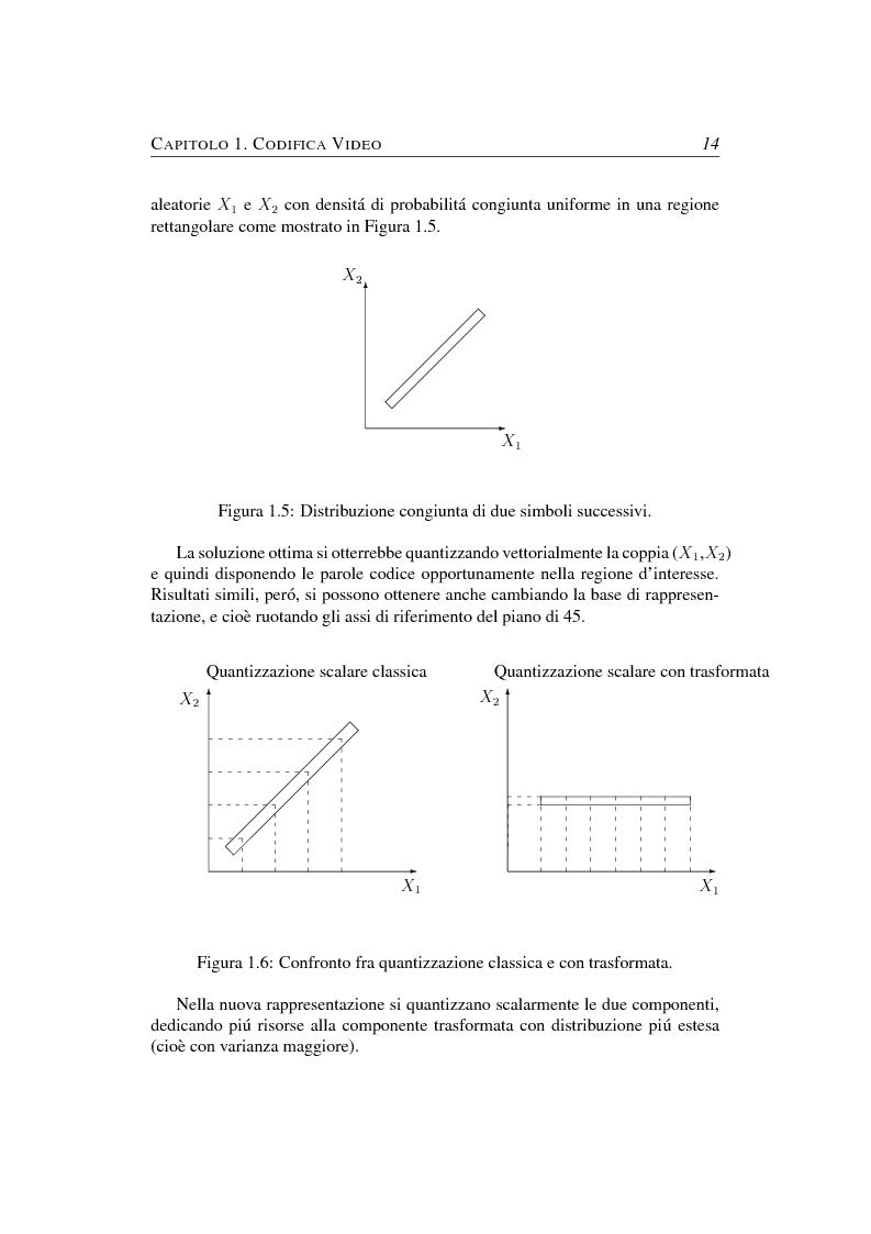 Anteprima della tesi: Compressione object-based del segnale video mediante trasformata Wavelet, Pagina 14